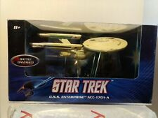 Star Trek Die Cast - USS Enterprise NCC-1701-A - Battle Damaged