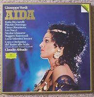 VERDI - AIDA 1982 Deutsche Grammophon DGG 3 LP Box Set - NM