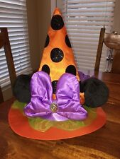 Minnie Mouse Witch Hat Halloween 2016 Disney World Theme Parks New NWT