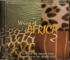 VOICES OF AFRICA 2 - ORIGINAL MUSIC FROM AFRICA - CD - NEW