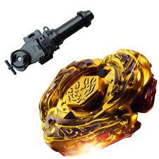 Beyblade  L-Drago Destructor (Destroy) GOLD Armored Metal Fury 4D + Black Grip