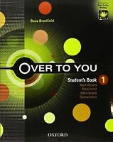(13).OVER TO YOU 1ºBACH.(STUDENT BOOK). ENVÍO URGENTE (ESPAÑA)