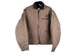 Carhartt United Parcel Service UPS Uniform Detroit Jacket Sandstone Duck XL NEW