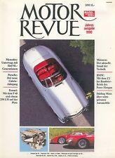 MOTORE Revue 1990 Ferrari F 40 MERCEDES SL Lynx COBRA auto sportiva Oldtimer Auto private