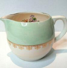 Royal Tudor Ware Barker Bros. Creamer Pastel Floral Gold
