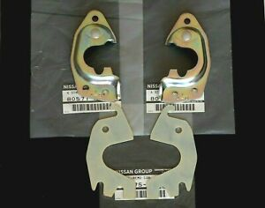 Datsun 510 240Z 260Z 280Z 620 PU Genuine Right & Left Door Latch Striker & Shim