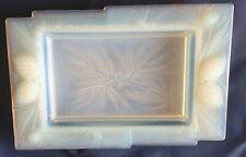 Etling, rare vide-poche en verre opalescent signée Verlux