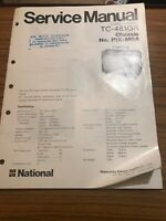 National TC -481GR Service Manual  For Colour Television PX-M6AChassis