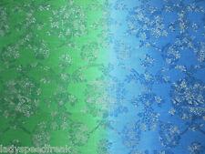 Designers Guild Curtain Fabric SUKUMALA 3.25m Cobalt Linen Mix Damask 325cm