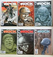 DC Comics Lot (6) - Joe Kubert Sgt Rock The Prophecy Issues 1 to 6 COMPLETE - NM
