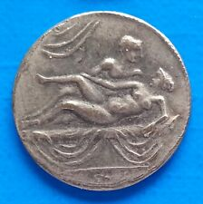 Ancient Rome Tessera Spintriae Erotic Token Roman Sex Coin Position 14.