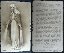 OLD BLESSED OUR LADY VIRGIN OF THE MIRACLE HOLY CARD PRAYER ANDACHTSBILD  CC1564