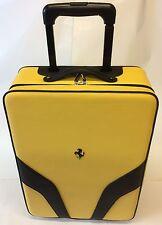 Ferrari Factory Roller Luggage # 70004630 Yellow/Blk Algar Ferrari On Sale Now!!