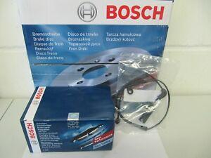 Bosch Bremsscheiben und Bremsbeläge mit Wkt. Mercedes E-Klasse W212 Satz vorne