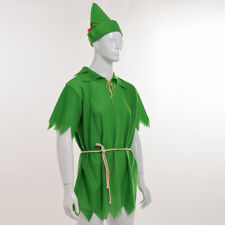Unisex Halloween Fancy Dress Cosplay Costume Peter Pan Robin Hood Party Costume
