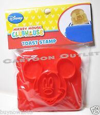 MICKEY MOUSE TOAST STAMP DISNEY MICKEY'S FACE STAMPER BREAD CLUBHOUSE NEW