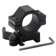 "1"" 25.4/ 30 mm Ring 20mm Weaver Picatinny Rail QD Quick Release Scope Mount"