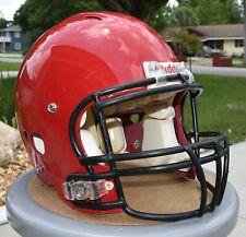 RIDDELL REVOLUTION FOOTBALL HELMET - Adult Size: Large - Color: Red - Used