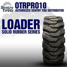 38x14 20 Sentry Tire Solid Loader Tires 4 Tires W Wheels 38 14 20 15x195