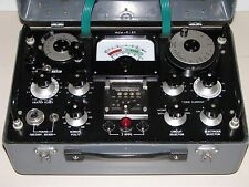 Military AVO CT 160 Mutual Conductance Valve Tube Tester - Calibrated