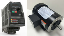 MOTOR & VFD PACKAGE- 2 HP 1800 RPM TEFC JLEM MOTOR WITH 2HP 230V TECO DRIVE