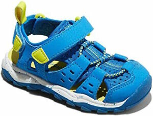New Cat & Jack Howell Fisherman Blue Sandals Shoes Toddler Boys Size 5 8 9 10