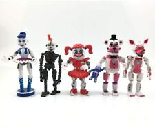 5pcs SET FNAF Five Nights at Freddy's Sister Location Action Figures Christmas