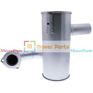 Exhaust Silencer Muffler 993/66200 for JCB 3CX 3CX-2 3CX-4 4CN-4 4C-4 Turbo