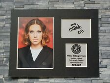 More details for millie bobby brown - signed autograph display - stranger things - mounted