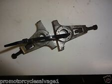 KAWASAKI GPX 750 R 1989 1990 1991:CHAIN ADJUSTERS:USED MOTORCYCLE PARTS