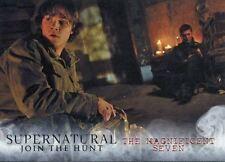 Supernatural Seasons 1-3 Base Card Parallel Mega Moon Lava 51 The Magnificent Se