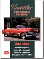 Cadillac Performance Portfolio 1948-1958: Series 60 Special, Series 61,...