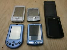 Lot of 4 Palm Tungsten Zire 71 Series Handheld Pda Organizers *For Parts*