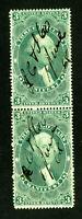US Stamps # R86c XF Used Pair Scott Value $125.00