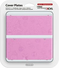 Official Nintendo Mario Pink Embossed New 3DS Faceplate / Cover Plates US Seller