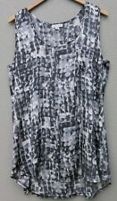 AUTOGRAPH Sleeveless Cool Easycare Top. Sz 14.