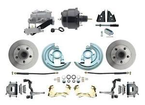 """1964-74 A, F, X Body 2"""" Drop ProLine 8"""" Dual Power Disc Brake Conversion Kit"""