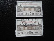 SUEDE - timbre yvert et tellier n° 1611 x2 obl (A29) stamp sweden (Z)