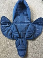 Head Hugger  Head Cushion And Harness Pads In Navy For Car seat Brand New