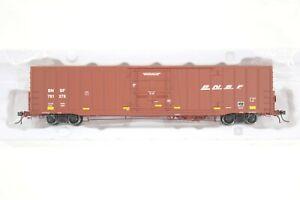 "HO Atlas Masterline BNSF ""Swoosh"" Herald 60ft Plug Door Box Car New Xlnt Detail!"