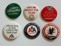 Collection of American Airlines vintage pins. Lot of 6. Price cut!