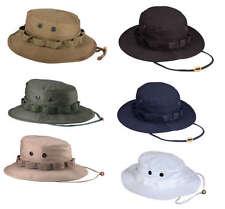 Bucket Jungle Hunting Fishing Outdoor Wide Brim Mens Sun Military Boonie Hat Cap