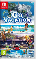 GO VACATION Nintendo Switch New / Factory Sealed / Worldwide Shipping