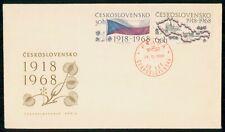 Mayfairstamps Czechoslovakia 1968 Flag Praha Cover wwg_48953