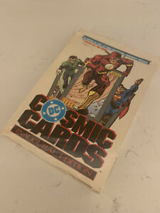 1991 COSMIC Trading CARDS DC Comics FACTORY SEALED BOX* IMPEL *Offers* Holograms