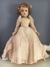 RARE Vintage 1930's Madame Alexander Wendy Ann Madeline Du Bain Composition Doll