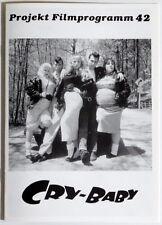 Projekt Filmprogramm 42 CRY-BABY Johnny Depp
