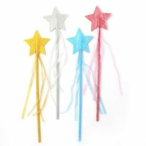 Glitter Star Wand, Fancy Dress, Party, Christmas, Fairy, Angel, Costume Book Day