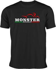 Monster T-Shirt für Ducati Fans und Italian Motorbike Fans