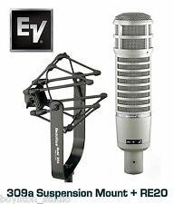 Electro-Voice RE-20 Professional Mic w/ Case + 309A Shock Mount ~ BRAND NEW!!